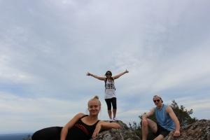 My wonderful climbing companions