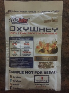 EHP Labs: OxyWhey 100% Lean Protein