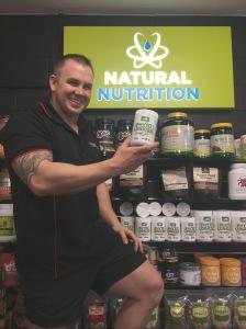 Mass Nutrition Sunshine Coast, owner Joshua Watkin